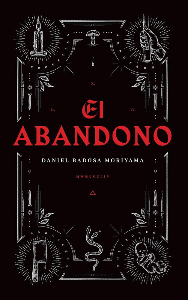 Diseño de la portada del libro El Abandono de Daniel Badosa